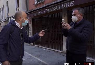 """Ranieri guerra, la rete: """"Dimissioni, invece di rispondere filmava  cronista"""" - Affaritaliani.it"""