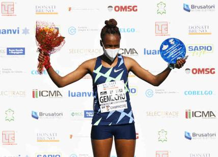 Campaccio Cross Contry 2021 femminile vince l'etiope Tsehay Gemechu