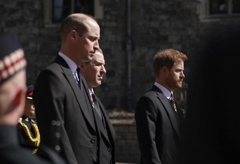 funerali principe filippo william harry