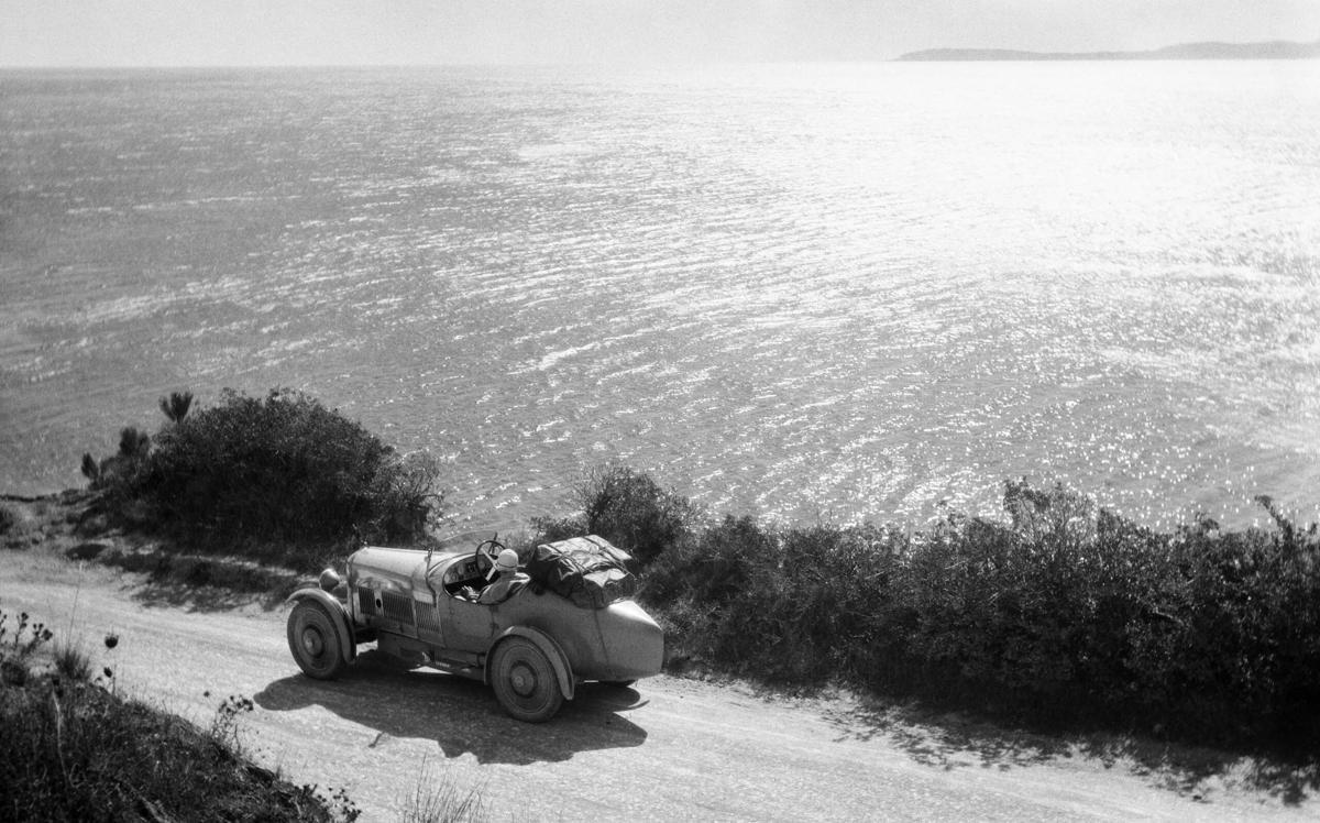 HENRI LARTIGUE   Mediterraneo 1927