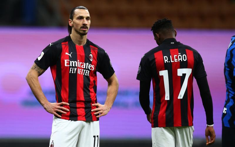 Ibrahimovic e Rafael Leao