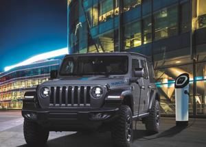 Nuova Jeep® Wrangler 4xe plug-in hybrid,ordinabile in Italia