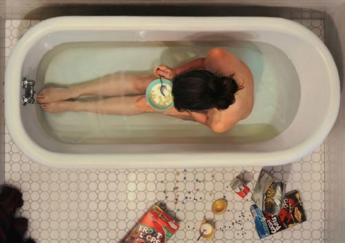 Vasca Da Bagno Nella Vasca : Il cibo secondo ufunk si mangia nella vasca da bagno