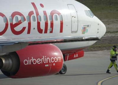 La Air Berlin è in bancarotta