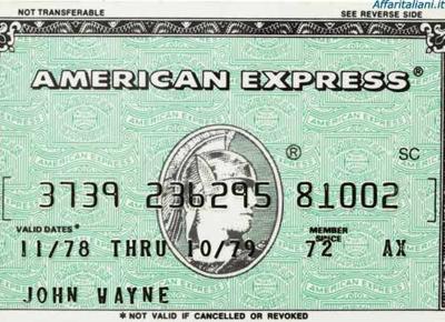 Apple Pay è utilizzabile da oggi anche con le carte American Express