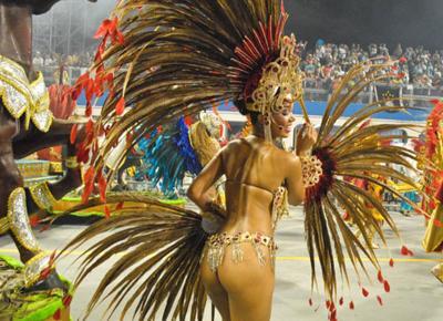 Le donne del carnevale di brasile 2014