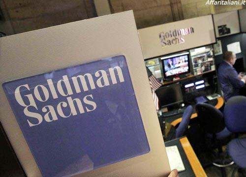 Goldman Sachs: Pil Europa meno 9% e Italia meno 11,6%
