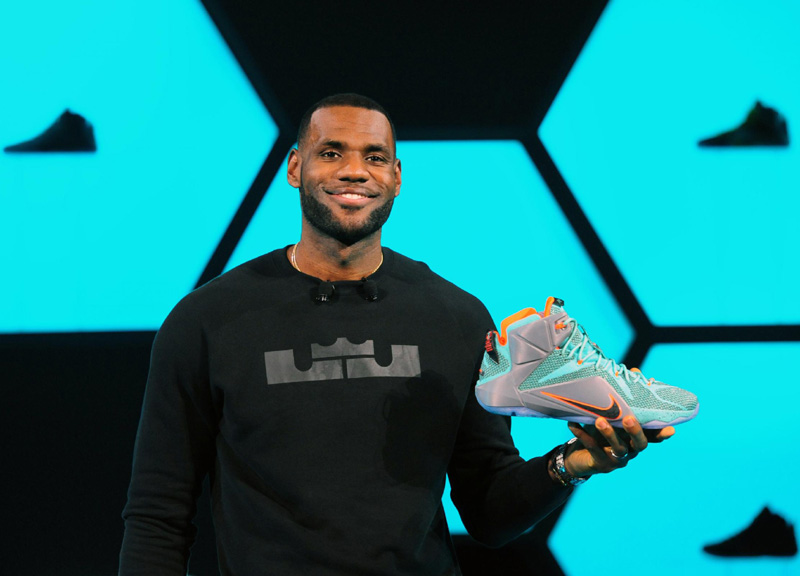 scarpe lebron james ape
