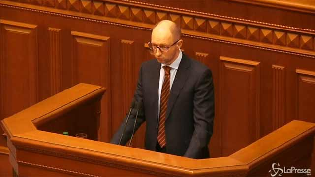 video Yatsenyuk