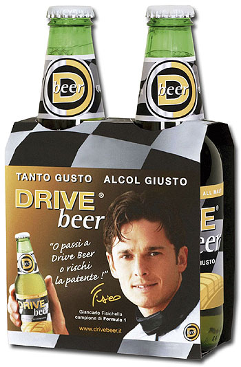 Giancarlo Fisichella Drive Beer