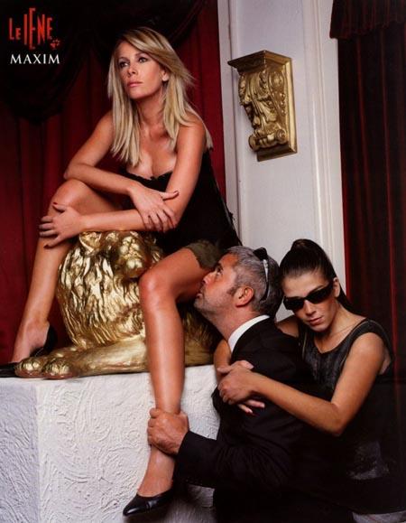 Alessia Marcuzzi Calendario.Alessia Marcuzzi In Vacanza Con La Piccola Mia