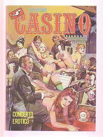 Fumetto erotico italiano casino