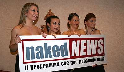 Naked News La Verit Messa A Nudo