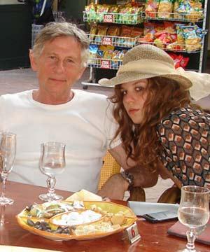 vip aroman polanski e sua figlia