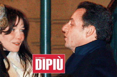 Sarkozy Carla Bruni (Foto DiPiù)